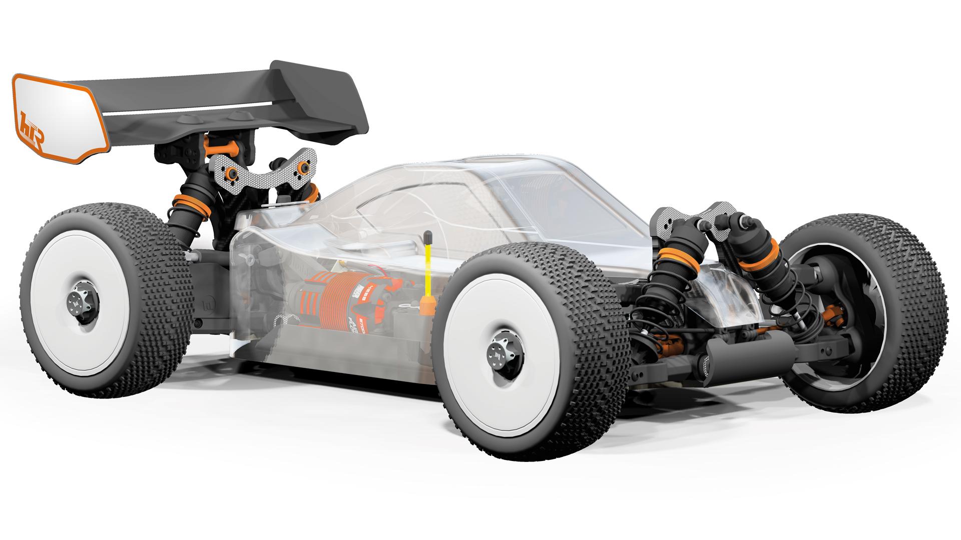 1:8 EP Race Buggy Hobbytech SPIRIT NXTE RR21 EP Kit SPIRIT.NXTE.RR21